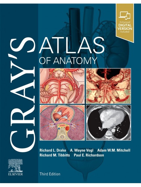Gray's Atlas of Anatomy, 3rd Edition
