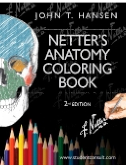 netters anatomy coloring book - Netters Anatomy Coloring Book